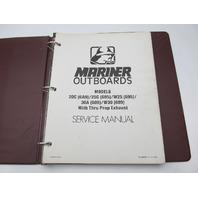 90-84681-1 1091 Outboard Service Repair Manual for Mariner 20-30 HP Models