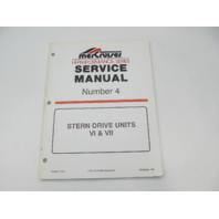 90-848656 396 MerCruiser Service Repair Manual Number 4 Hi-Performance VI & VII