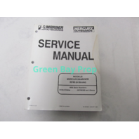 90-857046 98 Mercury Mariner Outboard Service Manual 30/40 HP 4-Stroke