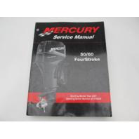 90-858896 2001 Mercury Outboard Service Repair Manual 50/60 HP 4-Stroke
