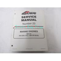 90-861326 MerCruiser Service Manual No 23 GM V-8 Marine Engines 7.4L 8.2L