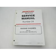 861327-1 1099 Mercury Mercruiser #24 Service Manual Marine Engines GM V-8 5.7L 5.0L