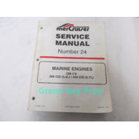 90-861327 Mercury Mercruiser #24 Service Manual Marine Engines GM V-8 5.7L 5.0L