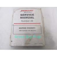 90-861329-1 MerCruiser Service Manual #26 GM 4 Cyl 3.0L Marine Engines 1999