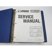 90-86135-5 1089 Mercury Mariner Outboard Service Repair Manual 45-70 HP