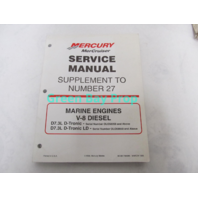 90-861784990 MerCruiser Diesel Service Manual Supplement to #27 D7.3L D-Tronic