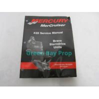 90-863160 Mercury Mercruiser #28 Service Manual for Bravo Sterndrive Units