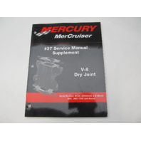 90-864260020 2002 Mercury Mercruiser #37 Service Manual Supplement V-8 Dry Joint