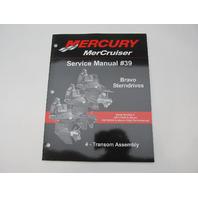 90-865612040 2006 Mercruiser #39 Bravo Service Manual Section 4 Transom Assy