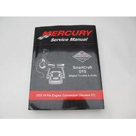 90-889288 07 Mercury Mercruiser SmartCraft DTS 14 Pin Service Manual Version 07