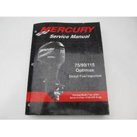 90-889785 03 Mercury Outboard Service Manual 75-115 HP Optimax 2004
