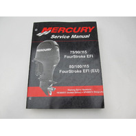 90-899185 2006 Mercury Outboard Service Repair Manual 75-115 FourStroke EFI