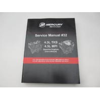 90-8M0086018 2013 Mercury Mercruiser Gasoline Engines #32 Service Manual 4.3L MPI TKS