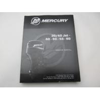 8M0110565 2015 Mercury Outboard Service Repair Manual 30/40 Jet 40-60 HP