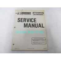 90-90640-3 Mercury Mariner Electric Outboard Service Manual 1984