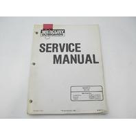 90-92235-1 1984 Mercury Outboard Service Repair Manual 18 & 25 HP