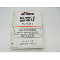 90-95693 1085 MerCruiser Service Repair Manual Number 3 GM Marine Engines Book 2