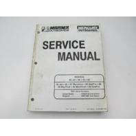 817643R1 1996 Mercury Mariner Outboard Service Repair Manual 50-60 HP 45 Jet