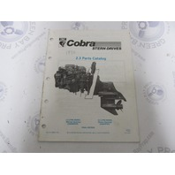 986551 1990 OMC Cobra Stern Drive Parts Catalog 2.3L PWS