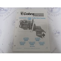 986553 1990 OMC Cobra Stern Drive Parts Catalog 3.0/3.0HO PWS PWR