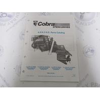 986554 1990 OMC Cobra Stern Drive Parts Catalog 4.3L/4.3HO PWS