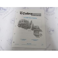 986556 1990 OMC Cobra Stern Drive Parts Catalog 5.7LE 350 King PWS