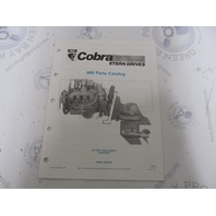 986557 1990 OMC Cobra Stern Drive Parts Catalog 460 King PWS