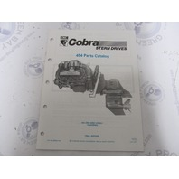 986558 1990 OMC Cobra Stern Drive Parts Catalog 454 King PWS