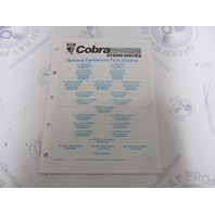 986560 1990 OMC Cobra Stern Drive Optional Equipment Parts Catalog 2.3L-7.4 King