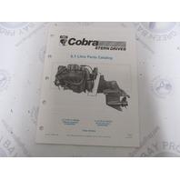 986852 1990 OMC Cobra Stern Drive Parts Catalog 5.7L PWS