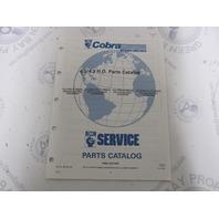 987102 1991 OMC Cobra Stern Drive Parts Catalog 4.3/4.3HO