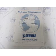 987104 1991 OMC Cobra Stern Drive Parts Catalog 5.7LE 350 King