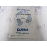 987105 1991 OMC Cobra Stern Drive Parts Catalog 5.0/5.0 HO 5.8