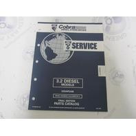 987486 1992 OMC Cobra Stern Drive Parts Catalog 3.2 Diesel