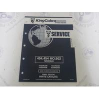 987487 1992 OMC King Cobra Stern Drive Parts Catalog 454 454HO 502