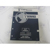 987490 1992 OMC Cobra Stern Drive Parts Catalog 5.7