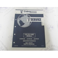 987492 1992 OMC Cobra Stern Drive Parts Catalog 3.0/3.0HO
