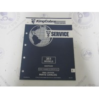 987584 1992 OMC King Cobra Stern Drive Parts Catalog 351