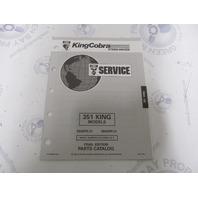 987857 1993 OMC King Cobra Stern Drive Parts Catalog 351 5.8
