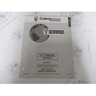 987859 1993 OMC Cobra Stern Drive Parts Catalog 3.2 Diesel
