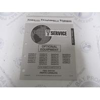 987860 1993 OMC Cobra Stern Drive Optional Equipment Parts Catalog 3.0-8.2L