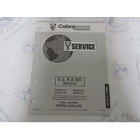 988015 1993 OMC Cobra Stern Drive Parts Catalog 5.0L 5.8 EFI