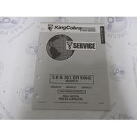 988080 1993 OMC King Cobra Stern Drive Parts Catalog 5.8 & 351 EFI
