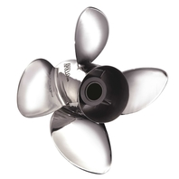 14-5/8 X 16 PITCH SST APOLLO V8/V6 STANDARD 4-BLADE SERIES A BOAT PROPELLER