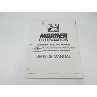 90-99987-2 1983 Mariner Electric Outboard Trolling Motor Service Repair Manual