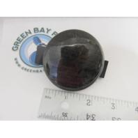 "Avalon Adventure Dark Gray Woodgrain Pontoon Boat Dash Blank Gauge Hole Plug 2-3/8"""