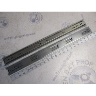 "C 3832-B22P Accuride 22"" Zinc Drawer Slides Pair"