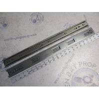 "C 3832-B22P Accuride 22"" Zinc Drawer Slides Pair"