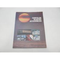CL-7739 Vintage Chrysler Marine Accessories Parts Catalog