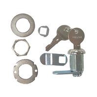 "CL49310 Sierra Marine CAM LOCK Kit w/Hardware & Keys, 5/8"" Depth"